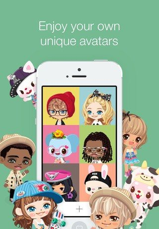 line-play-avatar-game-iphone-kawaii