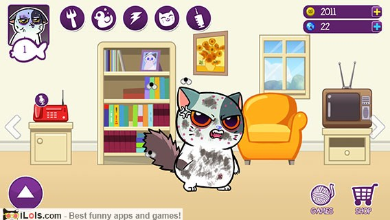 Image of: Customizable Avatars Virtual Cat With Minigames Android Community 15 Virtual Pet Apps And Games Better Than Talking Tom Ilols