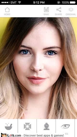How to download instabeauty makeup selfie cam in iphone