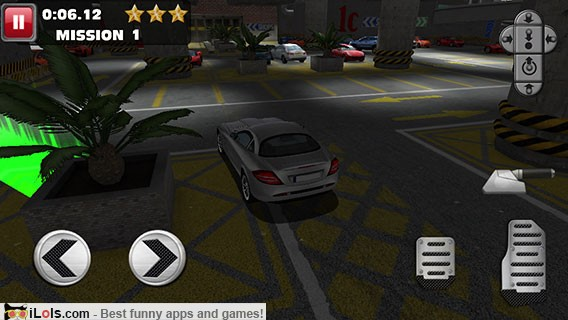 Car Racing Games Parking Lot