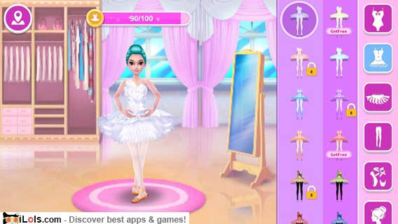 Pretty Girl Fashion Sport Coloring World - Paint And Draw ...  |Pretty Girl Fashion Game