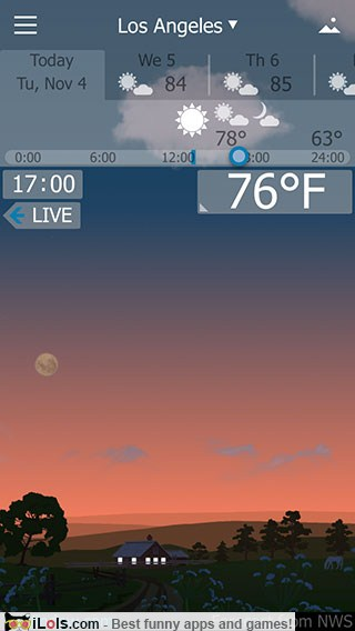10+ Unique Weather Apps for iPhone/iPad/Android | iLOLS Apps